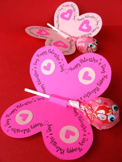 Check out this website for Valentine's Day Projects for you and your kids.
